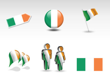 Ireland PowerPoint Map Slide 8
