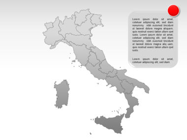 Italy PowerPoint Map Slide 11