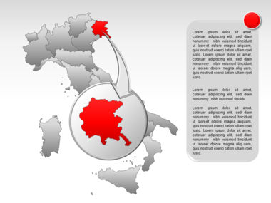 Italy PowerPoint Map Slide 15