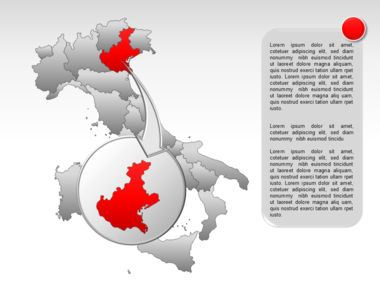 Italy PowerPoint Map Slide 16