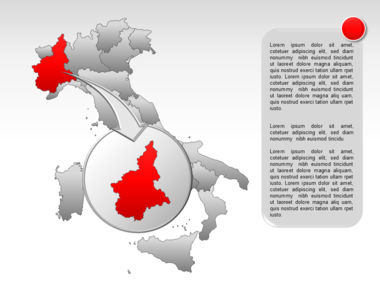 Italy PowerPoint Map Slide 20