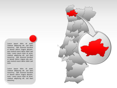 Portugal PowerPoint Map, Slide 14, 00010, Presentation Templates — PoweredTemplate.com