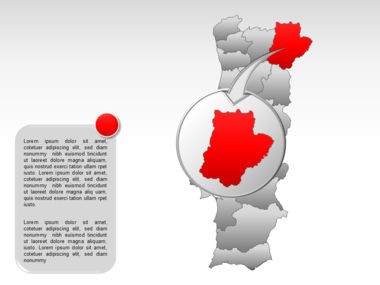 Portugal PowerPoint Map, Slide 29, 00010, Presentation Templates — PoweredTemplate.com