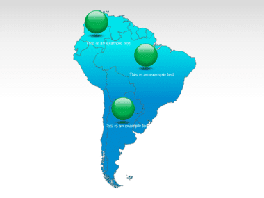 South America PowerPoint Map Slide 10