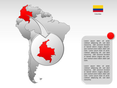 South America PowerPoint Map Slide 11