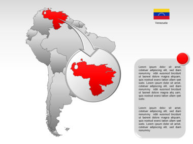 South America PowerPoint Map Slide 12