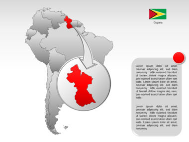 South America PowerPoint Map Slide 13