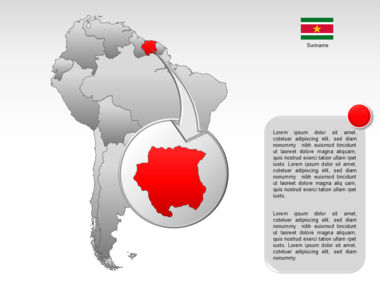 South America PowerPoint Map Slide 14