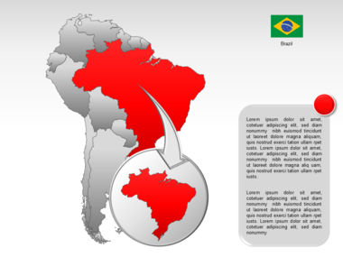 South America PowerPoint Map Slide 16