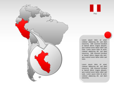 South America PowerPoint Map Slide 18
