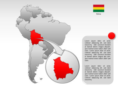 South America PowerPoint Map Slide 19