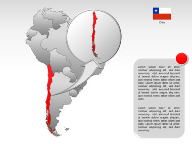 South America PowerPoint Map Slide 22