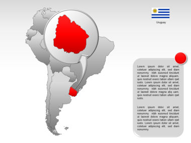 South America PowerPoint Map Slide 24
