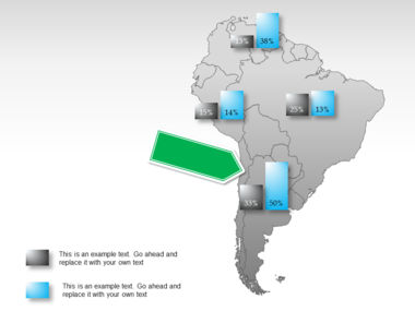 South America PowerPoint Map Slide 26