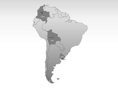 South America PowerPoint Map Slide 3