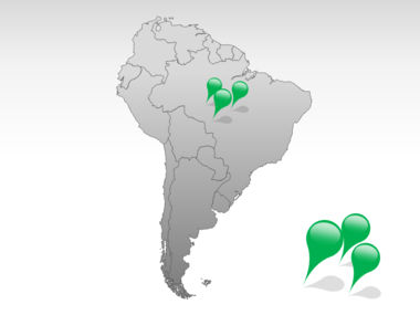 South America PowerPoint Map Slide 4