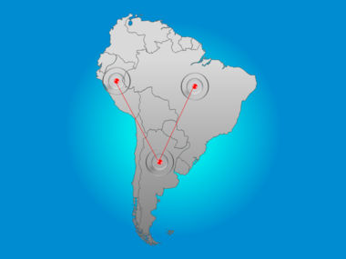 South America PowerPoint Map Slide 6