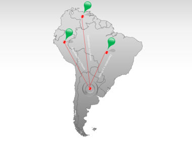 South America PowerPoint Map Slide 7