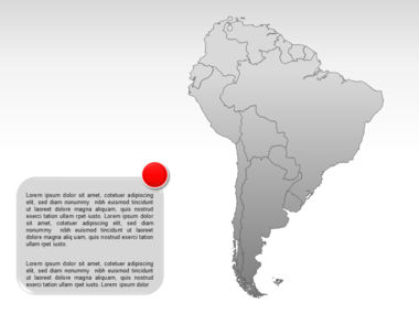 South America PowerPoint Map Slide 8