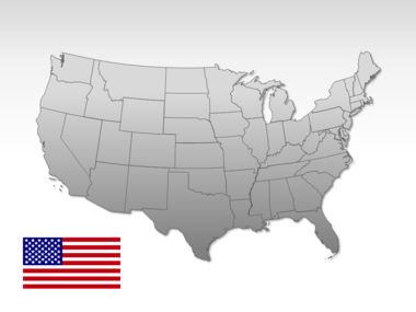 The USA PowerPoint Map Slide 10