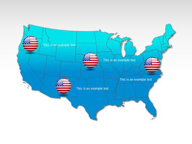 The USA PowerPoint Map Slide 12
