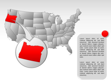 The USA PowerPoint Map Slide 14