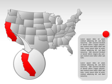 The USA PowerPoint Map Slide 15