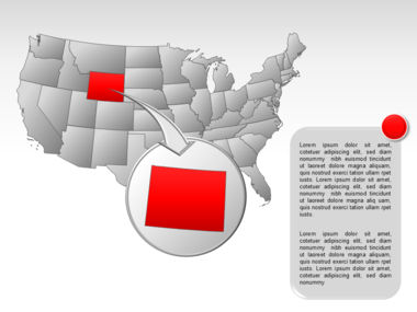 The USA PowerPoint Map Slide 20