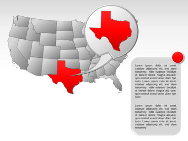 The USA PowerPoint Map Slide 24