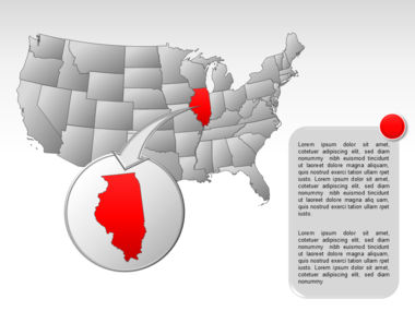 The USA PowerPoint Map Slide 36