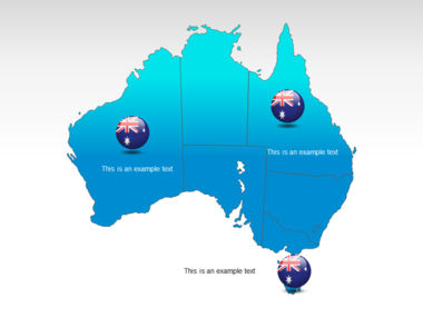 Australia PowerPoint Map Slide 12