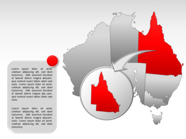 Australia PowerPoint Map Slide 14