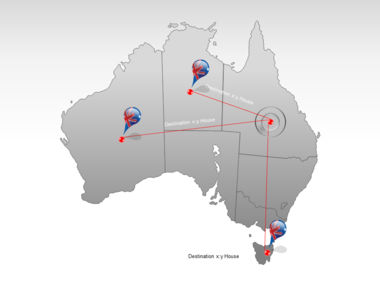 Australia PowerPoint Map Slide 7