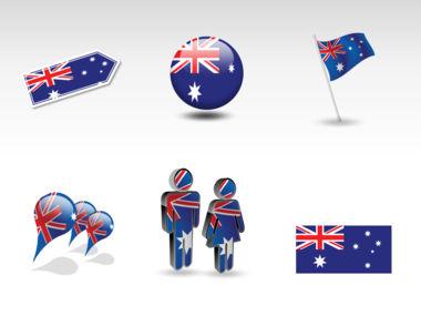 Australia PowerPoint Map Slide 8