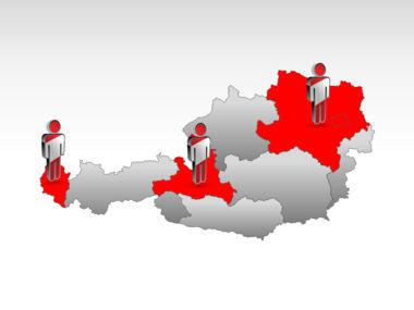 Austria PowerPoint Map, Slide 11, 00017, Presentation Templates — PoweredTemplate.com