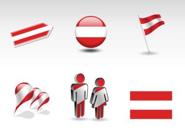 Austria PowerPoint Map, Slide 8, 00017, Presentation Templates — PoweredTemplate.com