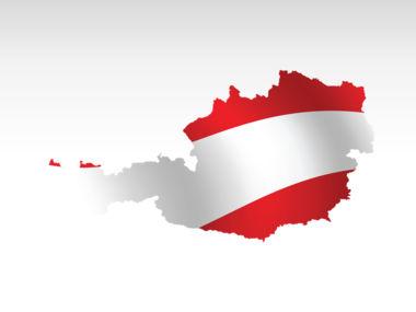 Austria PowerPoint Map Slide 9