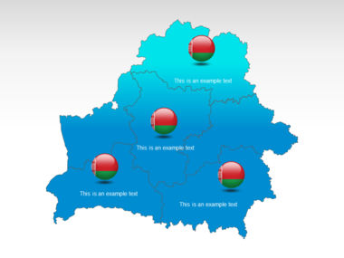 Belarus PowerPoint Map Slide 12