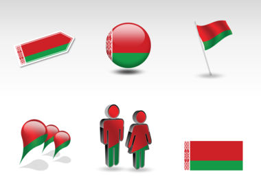 Belarus PowerPoint Map Slide 8