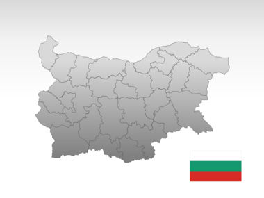 Bulgaria PowerPoint Map Slide 10