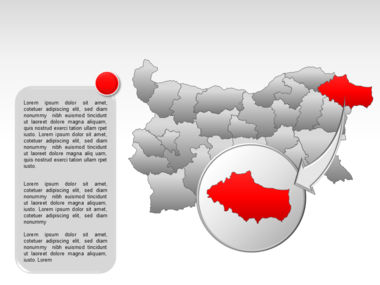 Bulgaria PowerPoint Map Slide 14