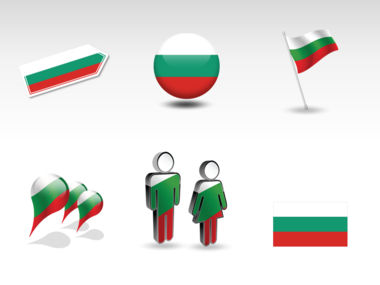 Bulgaria PowerPoint Map Slide 8