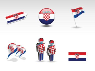 Croatia PowerPoint Map Slide 8