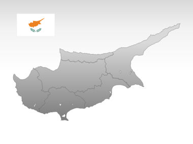Cyprus PowerPoint Map Slide 10