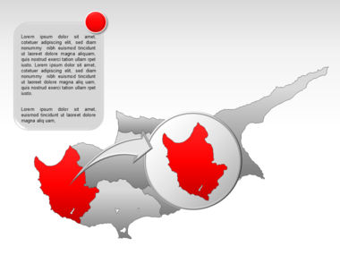 Cyprus PowerPoint Map Slide 13