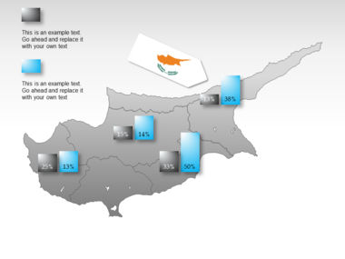 Cyprus PowerPoint Map Slide 16