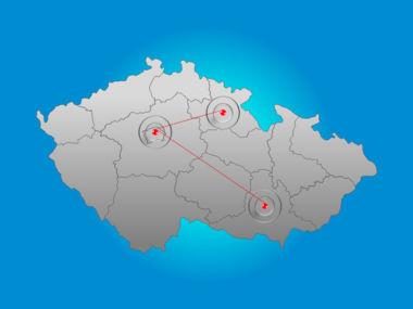 Czech Republic PowerPoint Map, Slide 6, 00028, Presentation Templates — PoweredTemplate.com