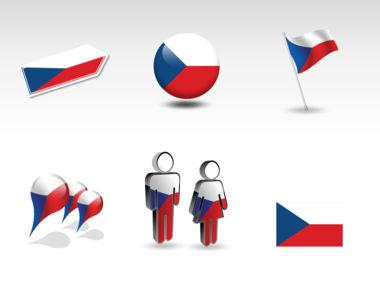 Czech Republic PowerPoint Map, Slide 8, 00028, Presentation Templates — PoweredTemplate.com