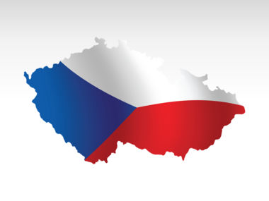 Czech Republic PowerPoint Map Slide 9