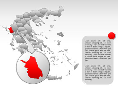 Greece PowerPoint Map Slide 16